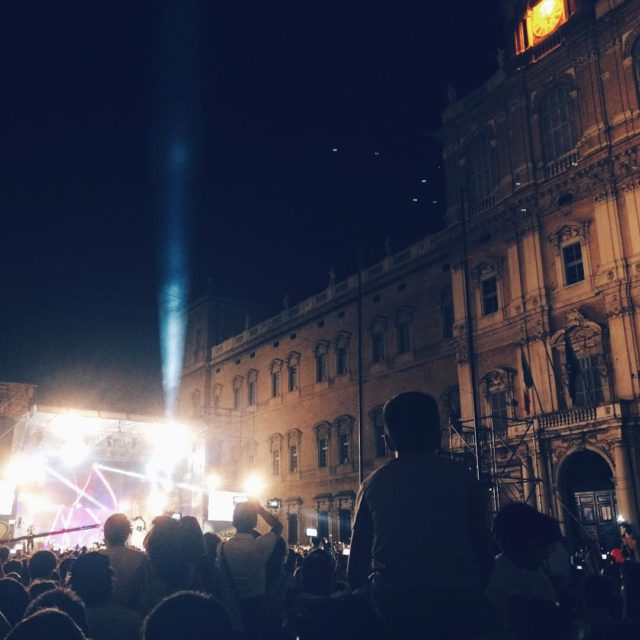 Imagine a night of July in the beautiful Piazza Romahellip