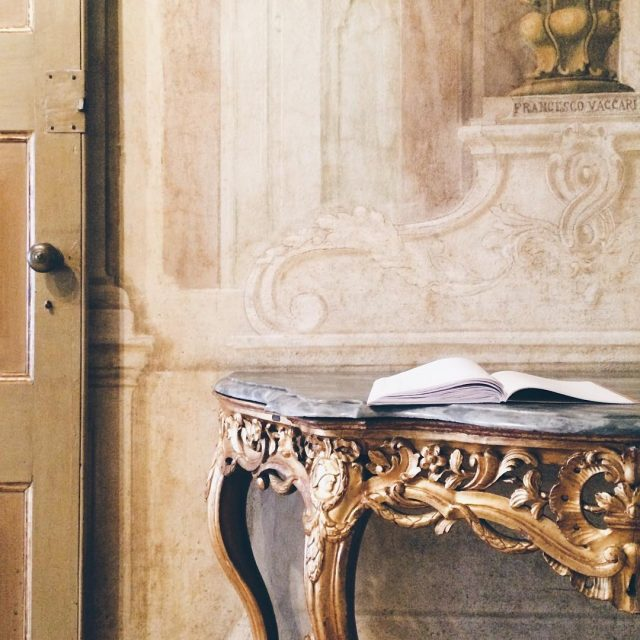 Beautiful details of the rooms of Palazzo Comunale of Modenahellip