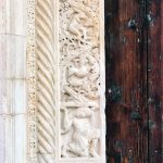 the beautiful details of Modena Cathedral Leggendo e approfondendo lahellip