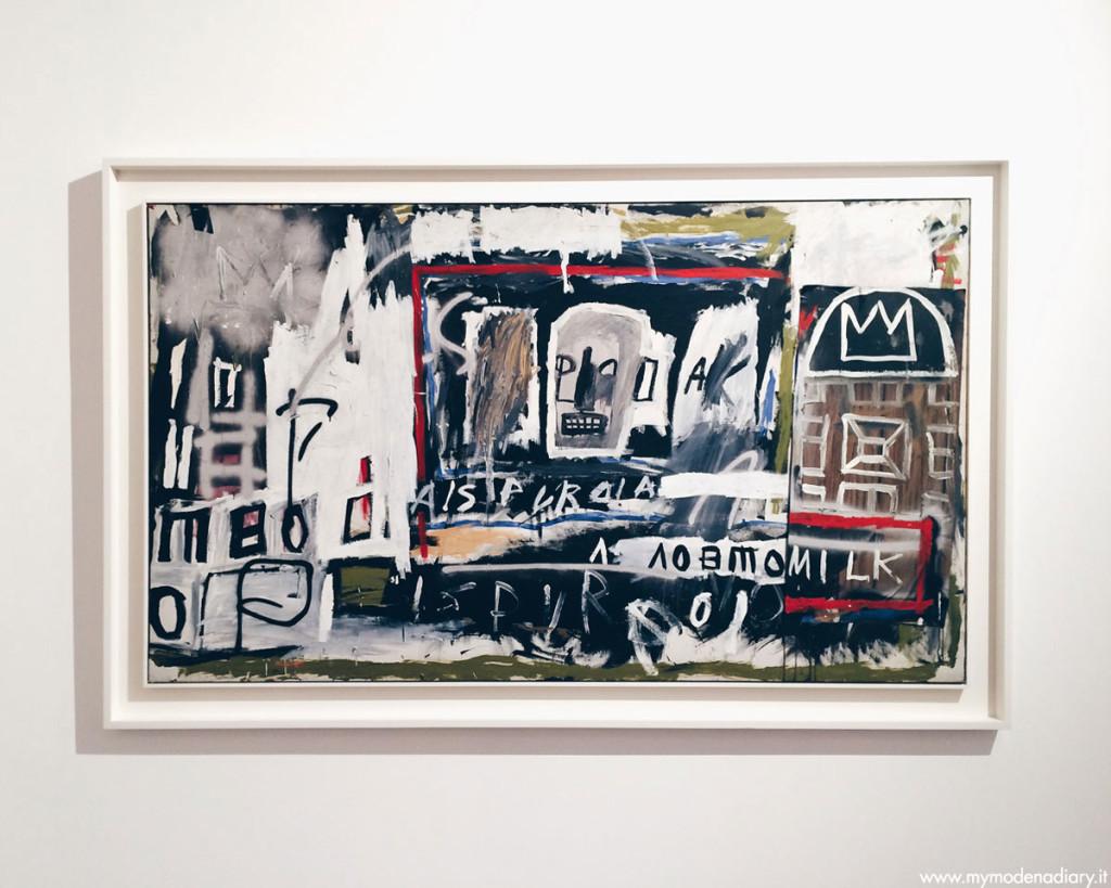 Jean-Michel Basquiat New York, New York, 1981 Tecnica mista su tela Collezione Privata Modena