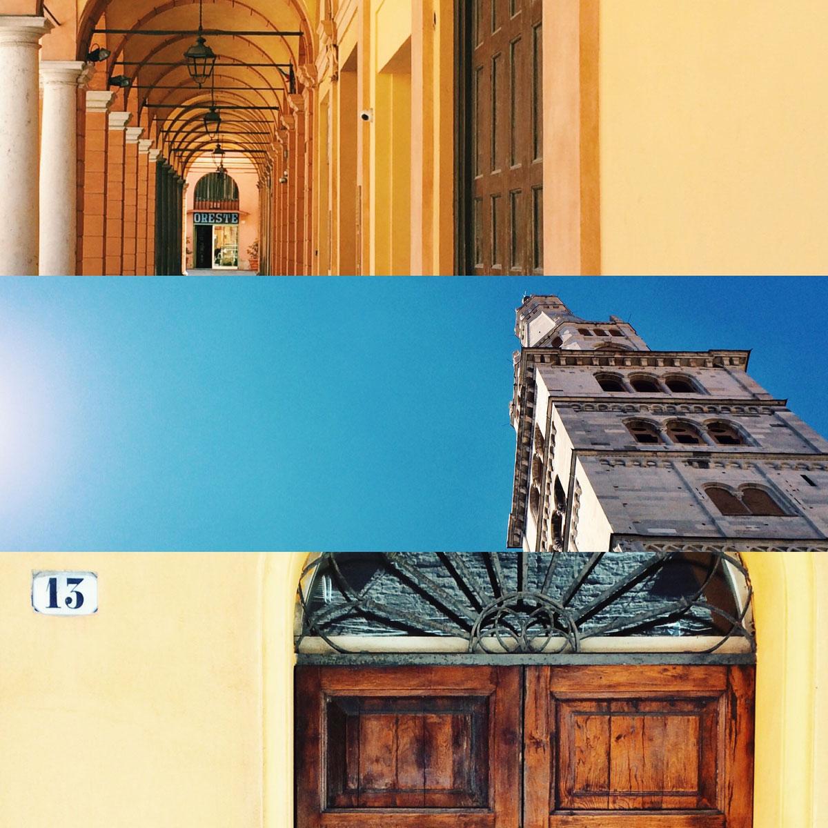 Cosa vedere a Modena in un giorno - collage