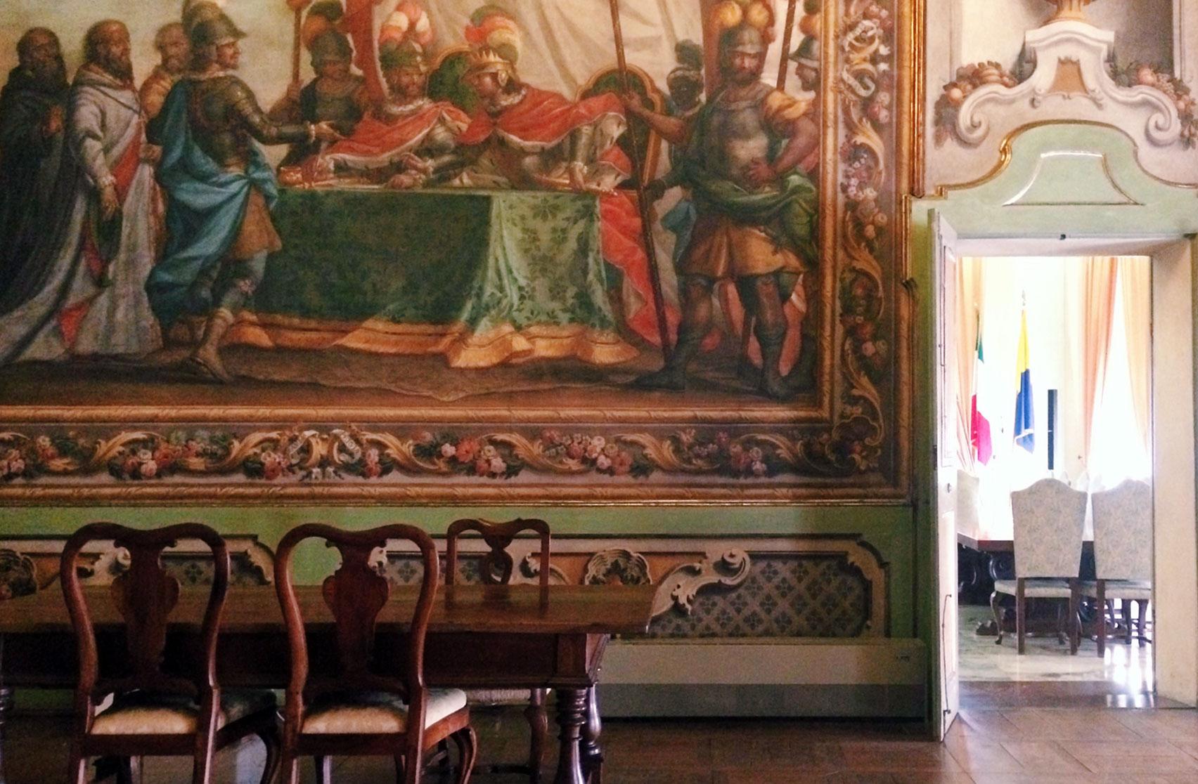 sale storiche palazzo comunale di Modena My Modena Diary