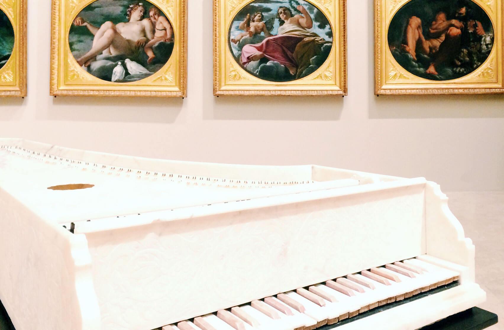 Galleria Estense Modena Cembalo Michele Antonio Grandi