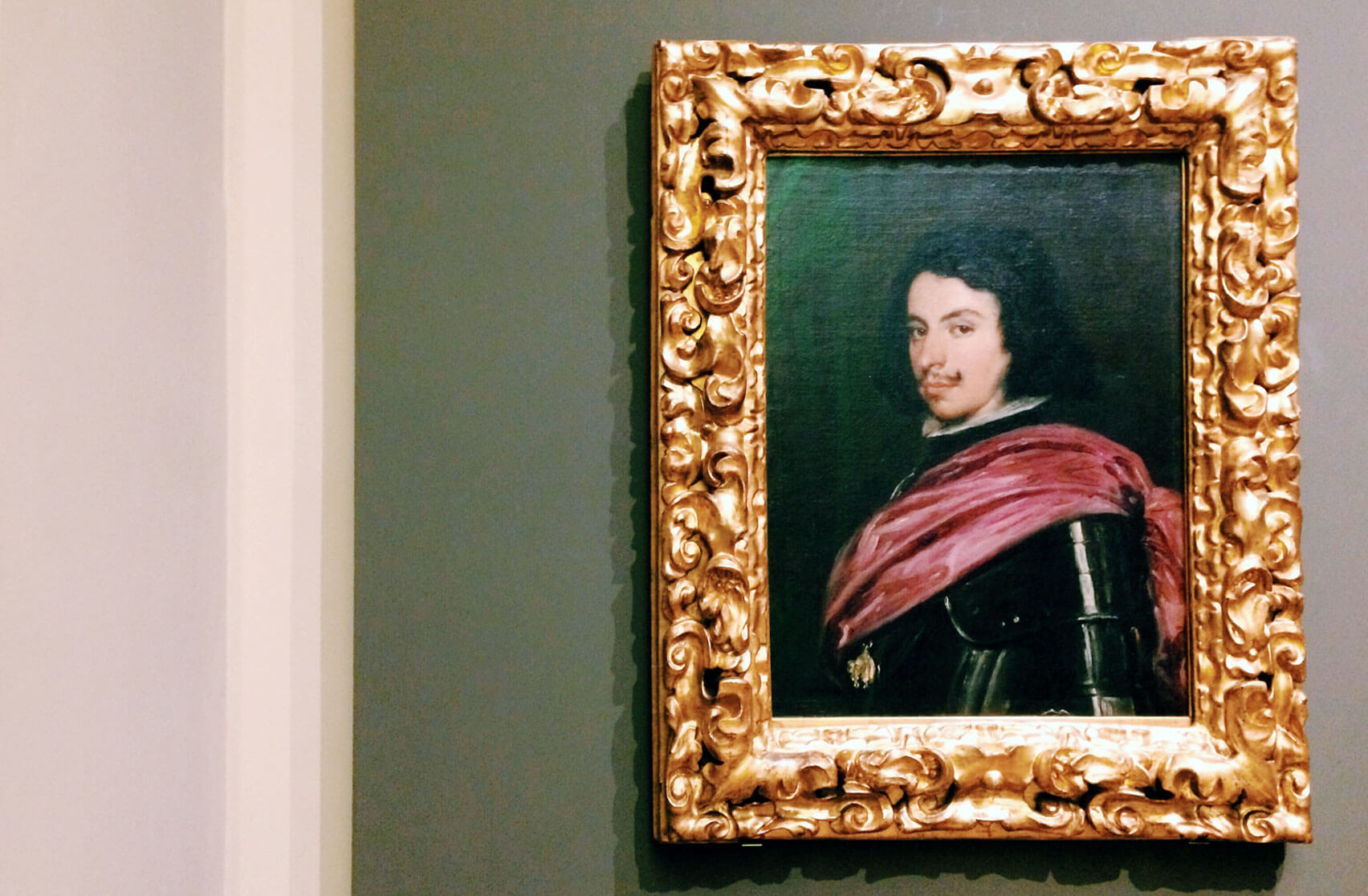 Galleria Estense Modena Ritratto di Francesco I d'Este del Velazquez