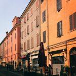 the streets of Modena in holiday daysLe domeniche come ognihellip