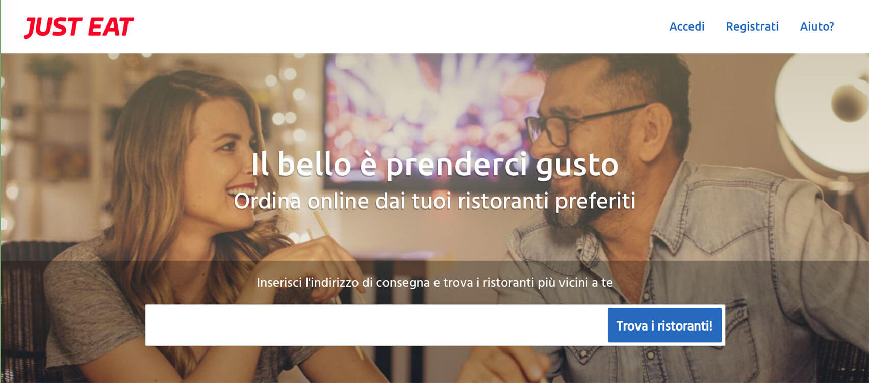 Just Eat: ordini online a domicilio a Modena